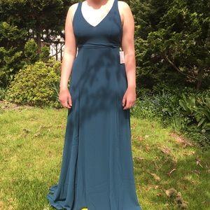 Show Me Your Mumu Jade Jenn maxi bridesmaid dress